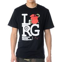 Футболка LRG Apple Eater black -50%