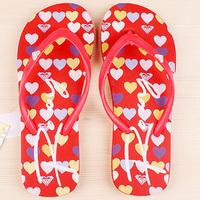 Женские вьетнамки Roxy red hearts -60%