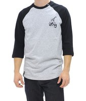 Джерси LRG  Team Coach Baseball reglan Tee black -40%