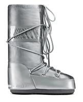 Зимние сапоги, детские мунбуты Tecnica Moon Boot Glance silver junior