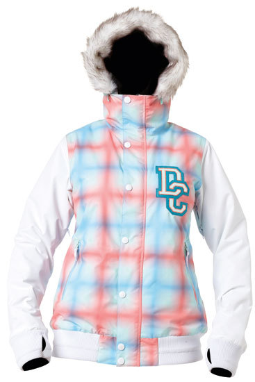 Женская куртка DC Squad white -50% by agency iworldestate.com