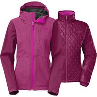 Женская куртка The North Face thermoball triclimate jacket plum