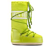 Зимние сапоги, детские мунбуты Tecnica Moon Boot Nylon lime junior