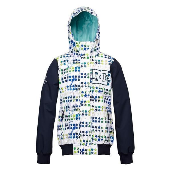 Женская куртка DC Squad bright white pattern -50% by agency iworldestate.com