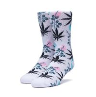 Носки HUF FA18 Cherry blossom plantlife crew socks white