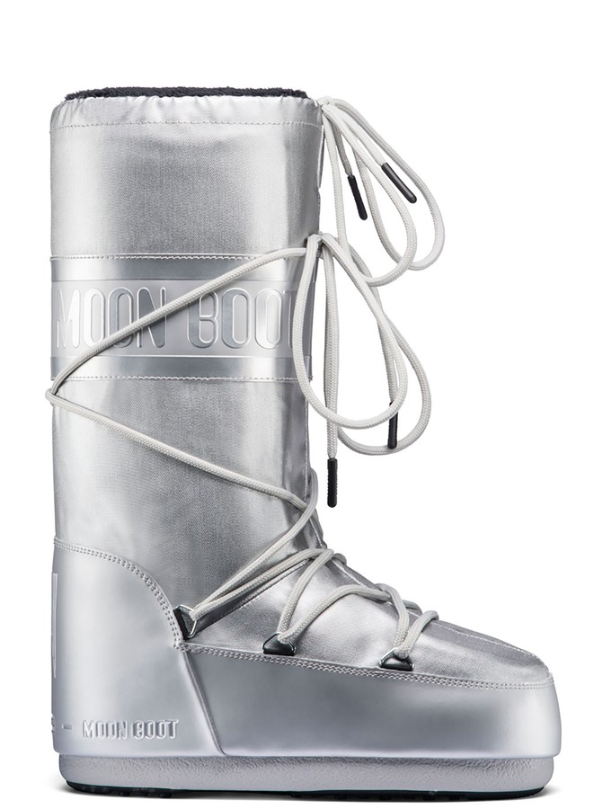 Зимние сапоги, мунбуты Tecnica Moon Boot Classic plus Met silver by agency iworldestate.com
