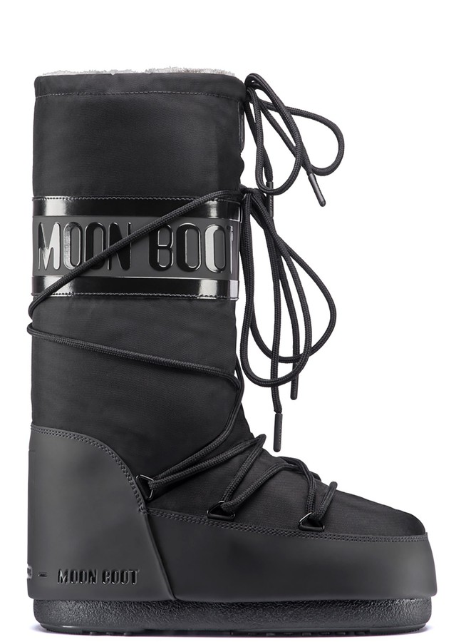 Зимние сапоги, мунбуты Tecnica Moon Boot Classic plus black by agency iworldestate.com