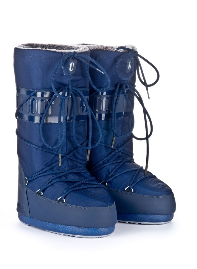 Зимние сапоги, мунбуты Tecnica Moon Boot Classic plus blue navy by agency iworldestate.com