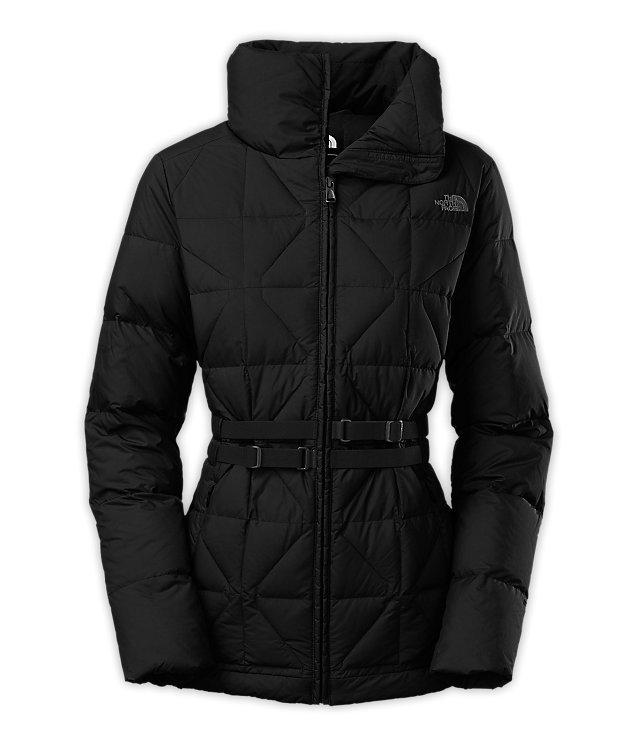 Женская куртка The North Face Belted Mera jacket black by agency iworldestate.com