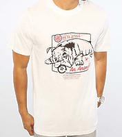 Футболка LRG The We're Still an Animal in white -50%