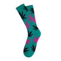 Носки HUF Plantlife Socks jade magenta black