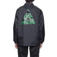 Куртка HUF Dimensions coaches jacket black