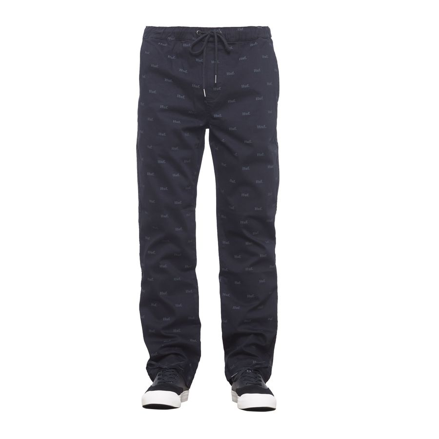 Брюки HUF FA18 Domestic easy pant black by agency iworldestate.com