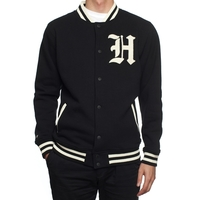 Куртка HUF SF Ivy Varsity jacket black -50%