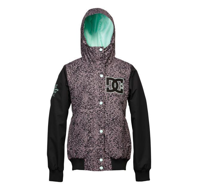 Женская куртка DC Squad dark gull grey -50% by agency iworldestate.com