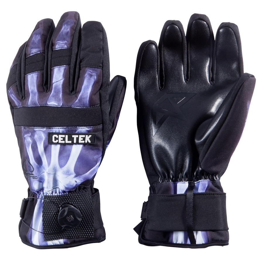 Перчатки c защитой запястья Celtek Faded Protec wrist guard X ray by agency iworldestate.com