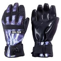 Перчатки c защитой запястья Celtek Faded Protec wrist guard X ray