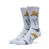 Носки HUF Eat it crew sock powder blue