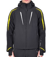 Горнолыжная куртка Volkl Black Flash Jacket black/yellow/white -40%