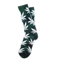 Носки HUF Tie-Dye Plantlife Socks green