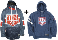 Сноубордическая куртка Technine Hockey jersey jacket navy + реглан Technine -50%