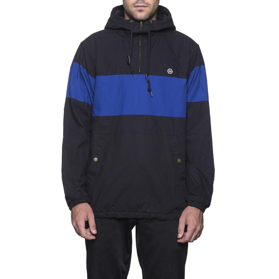 Анорак HUF Explorer-1 anorak jacket black by agency iworldestate.com