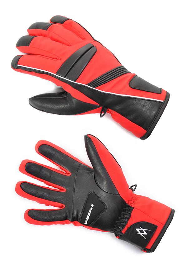 Мужские перчатки Volkl Black Flash glove red by agency iworldestate.com