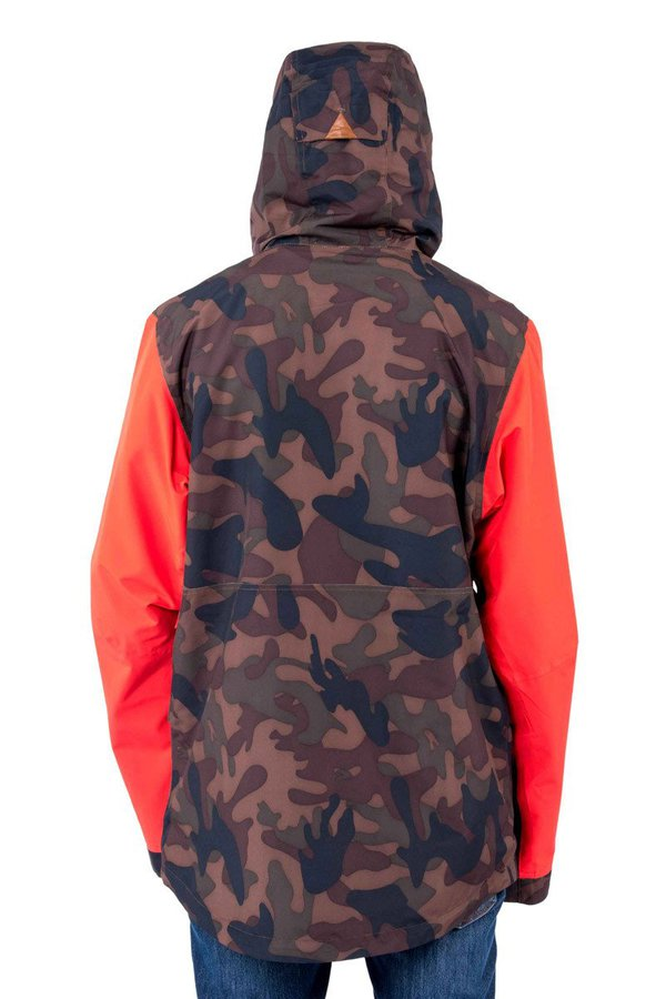 Сноубордическая куртка Holden M's Highland jacket camo poppy by agency iworldestate.com