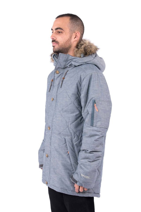 Пуховик с мембраной Holden M's Pacific Down jacket chambray by agency iworldestate.com