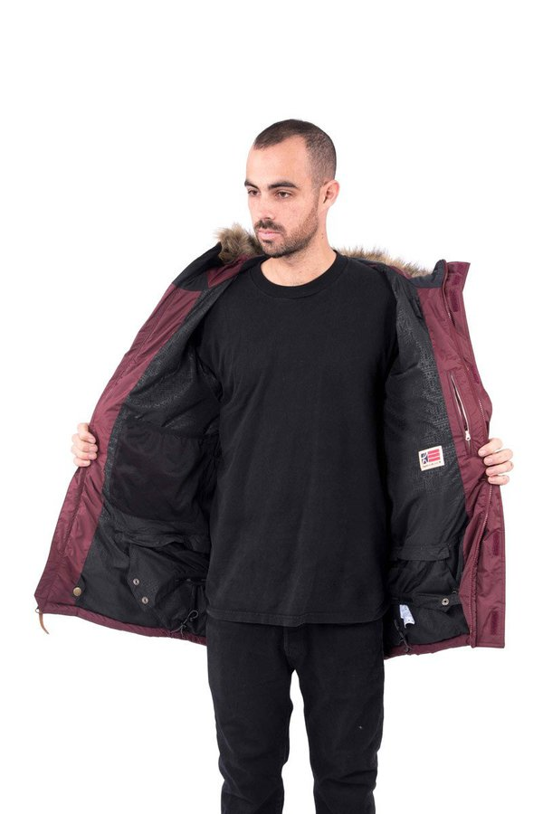 Пуховик с мембраной Holden M's Pacific Down jacket port royale