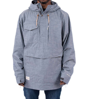 Сноубордическая куртка-анорак Holden M's Scout side zip jacket chambray
