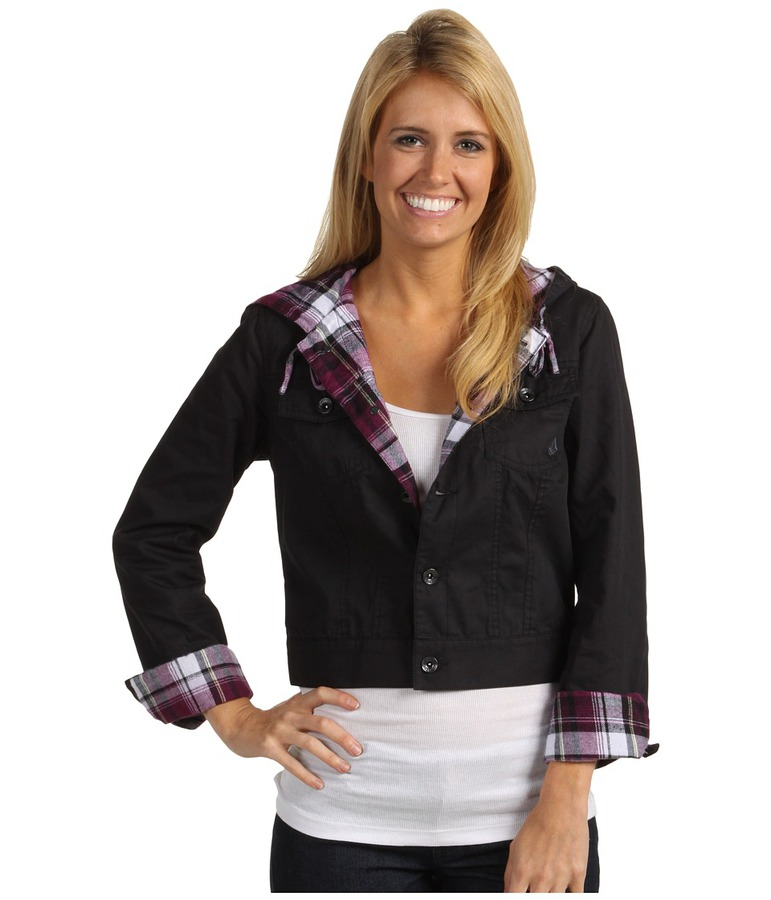 Женская куртка Volcom Break It Down Hooded Jacket -50%  by agency iworldestate.com