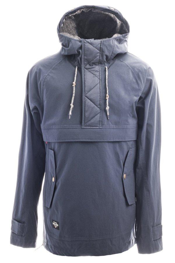 Сноубордическая куртка-анорак Holden M's Scout side zip jacket navy
