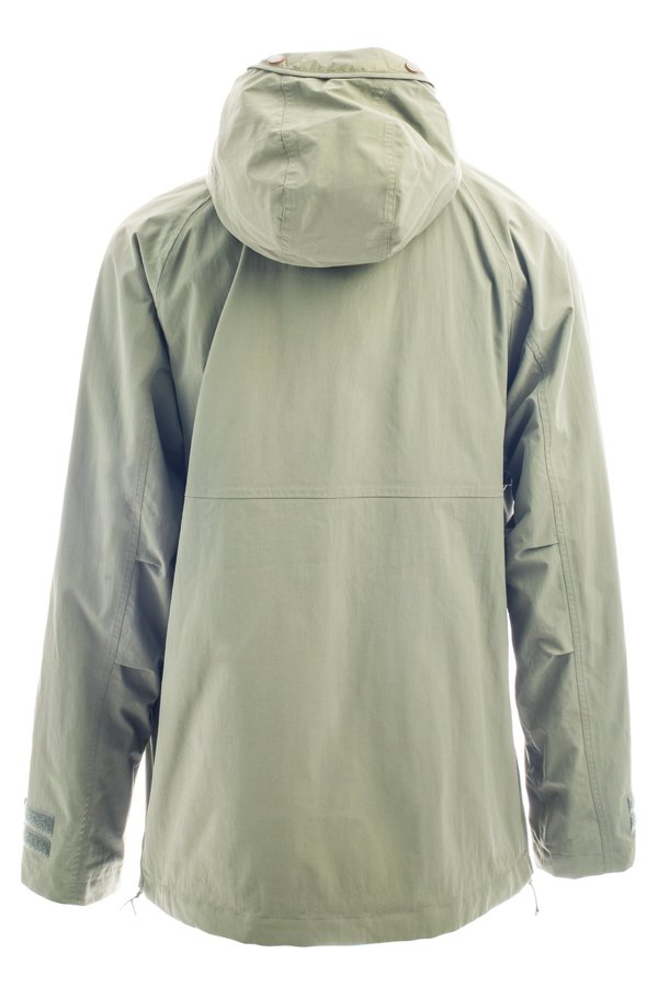 Сноубордическая куртка-анорак Holden M's Scout side zip jacket sage by agency iworldestate.com