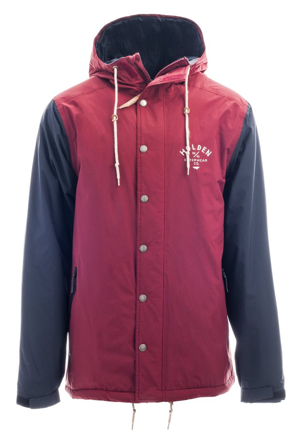 Сноубордическая куртка Holden M's Team jacket camp maroon black by agency iworldestate.com