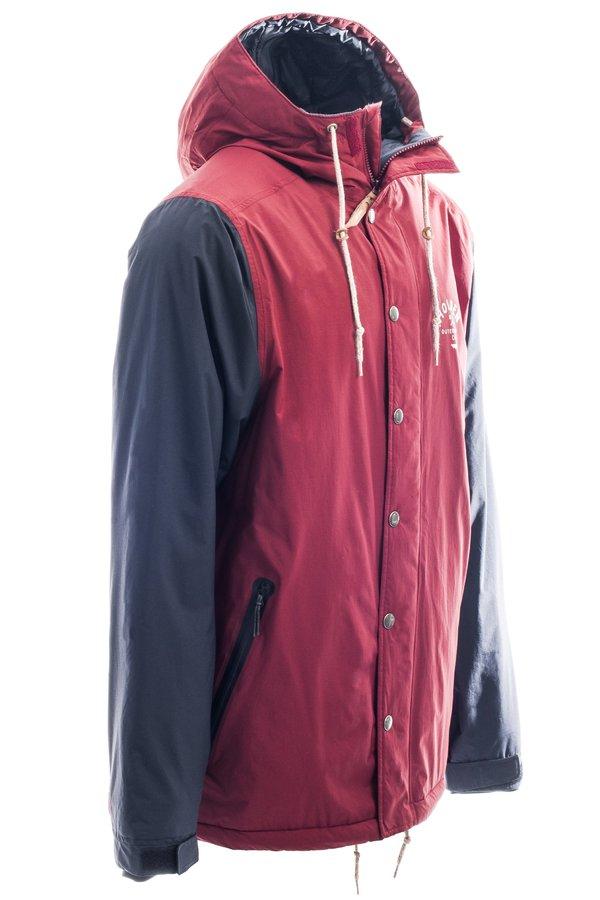 Сноубордическая куртка Holden M's Team jacket camp maroon black by agency iworldestate.com