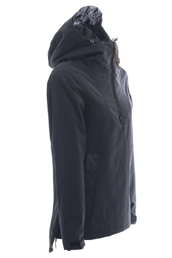 Женская куртка-анорак Holden W's Cascade side zip jacket black by agency iworldestate.com