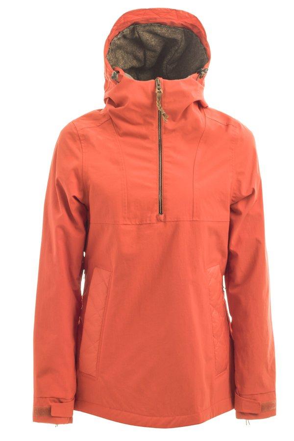 Женская куртка-анорак Holden W's Cascade side zip jacket crimson by agency iworldestate.com
