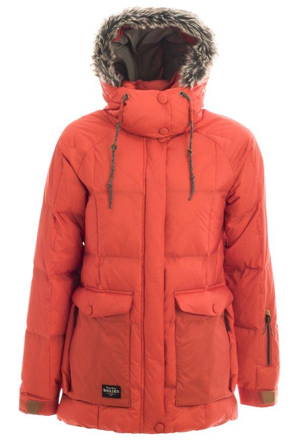 Женская куртка-пуховик Holden W's Carter jacket crimson by agency iworldestate.com