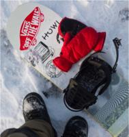 Сноубордические варежки Howl Daily Mitt red