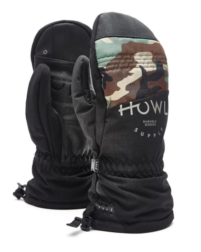 Сноубордические варежки Howl Team Mitt black by agency iworldestate.com