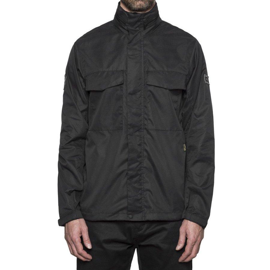Ветровка HUF Bickle M65 Tech jacket black by agency iworldestate.com