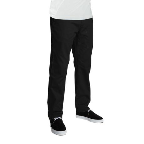Брюки HUF Fulton Chino pants black by agency iworldestate.com