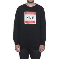 Реглан HUF Poster box logo crewneck black