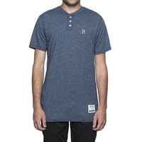 Футболка HUF Premium heather henley -30%