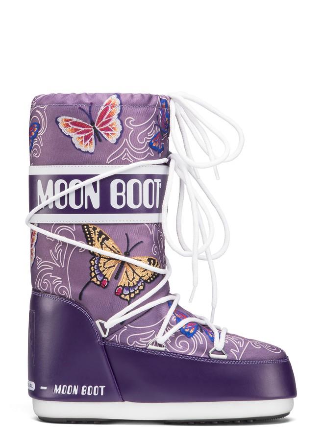Зимние сапоги, детские мунбуты Tecnica Moon Boot JR Butterfly viola junior by agency iworldestate.com