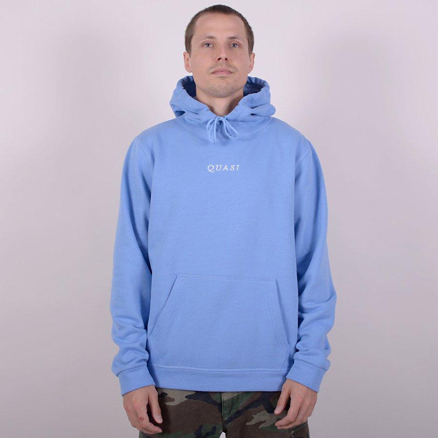 Реглан Quasi Logos Hooded sweatshirt blue by agency iworldestate.com