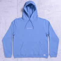 Реглан Quasi Logos Hooded sweatshirt blue