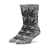 Носки HUF Melange plantlife crew sock grey black