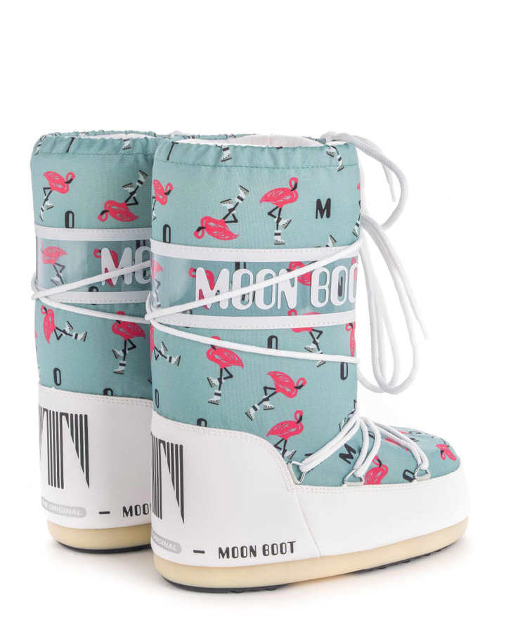Зимние сапоги, детские мунбуты Tecnica Moon Boot JR Girl flamingo  by agency iworldestate.com